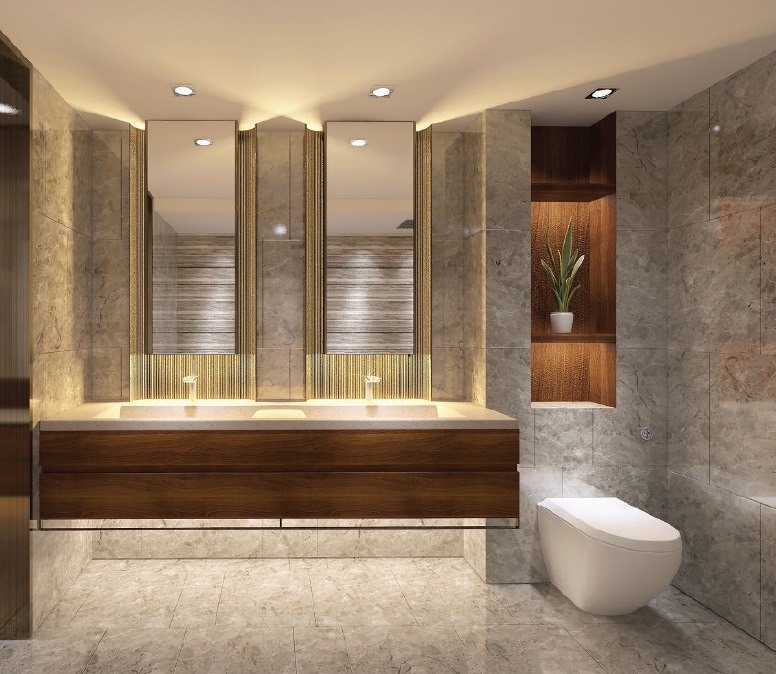 Shang Residences - 2 BR - Bathroom