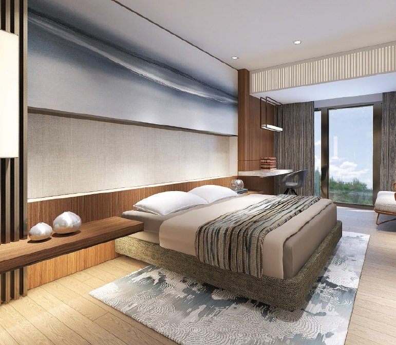Shang Residences - 2 BR - Bedroom