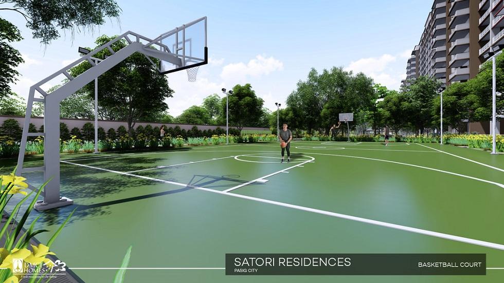 Satori Residences - Basketball Court