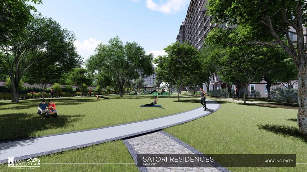 Satori Residences - Jogging Path