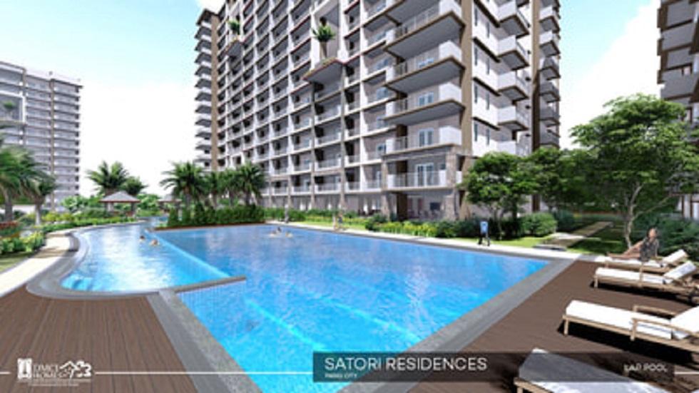 Satori Residences - Lap Pool