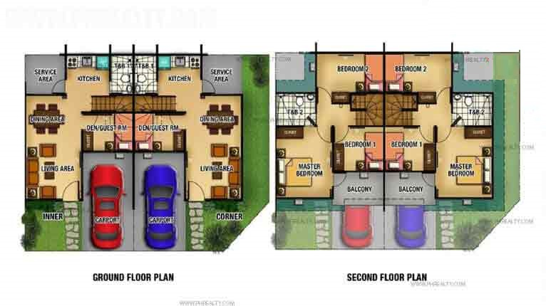 Lancaster New City - Adelle Floor Plan