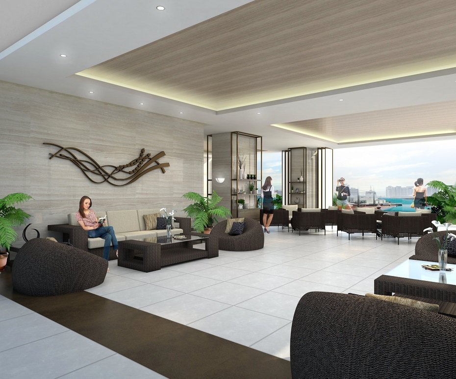 Grand View Towers - Outdoor Lounge Area