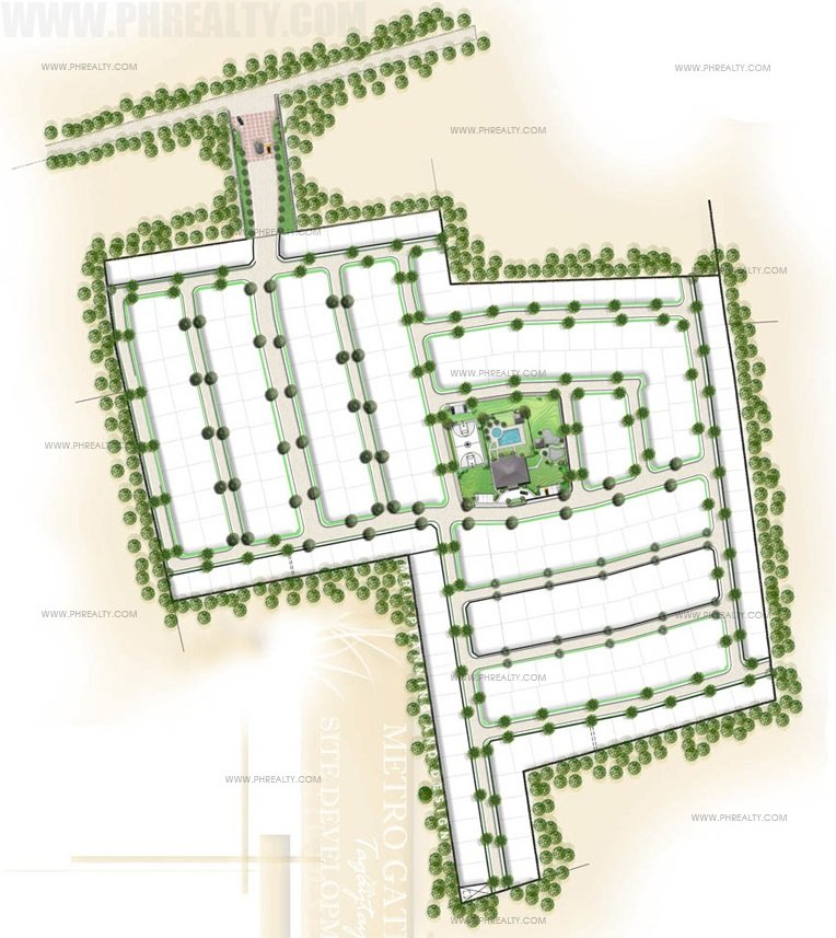 Metrogate Tagaytay Manors - Site Development Plan