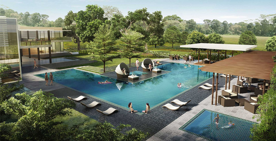 The Enclave Alabang - Swimming pool
