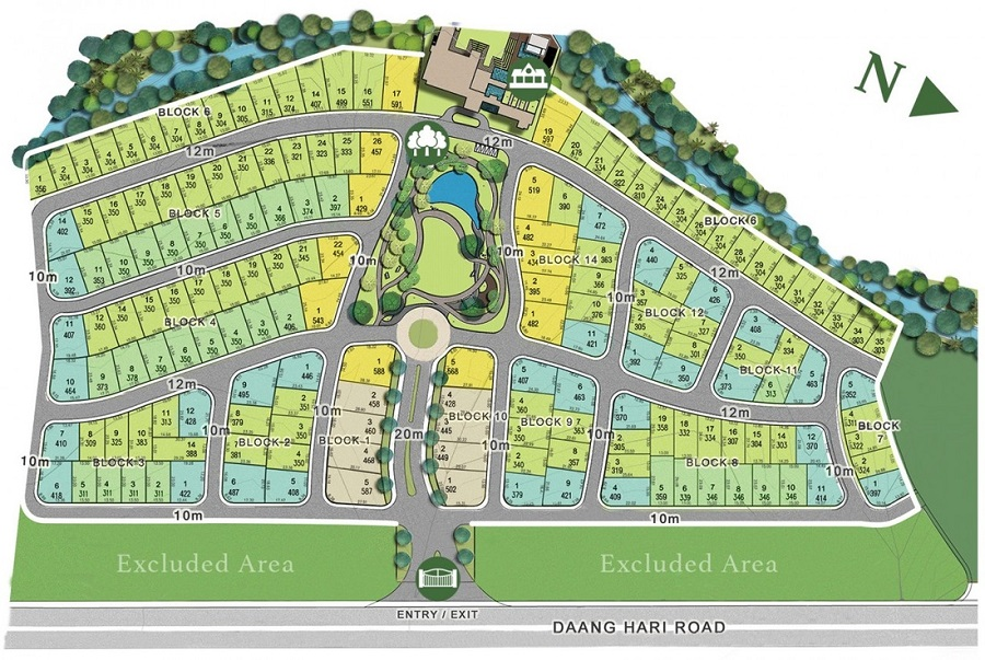 The Enclave Alabang - Site Development Plan