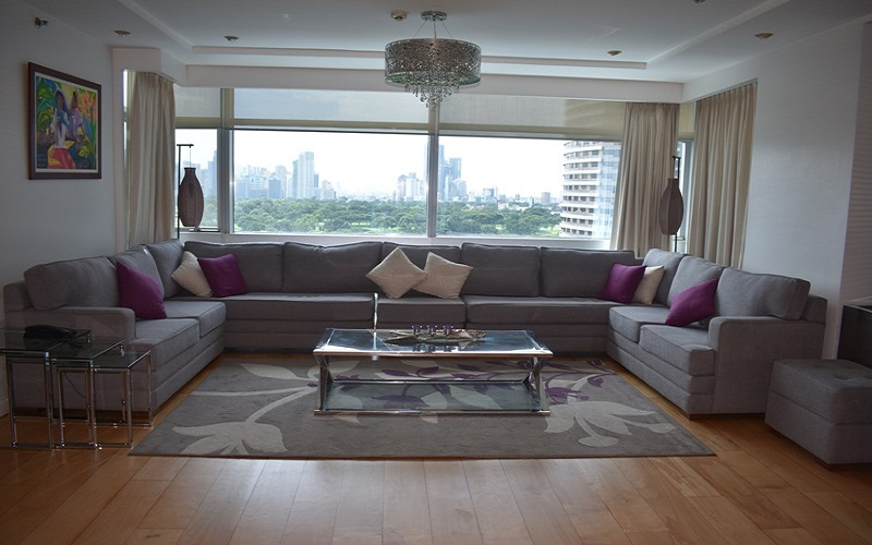 Pacific Plaza Condominium - Living Area