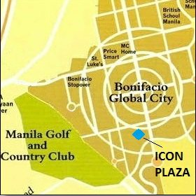 Icon Plaza - Location Map