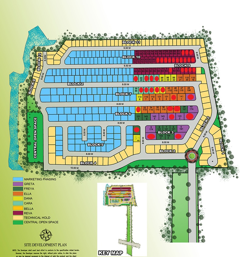 Camella Urdaneta - Site Development Plan