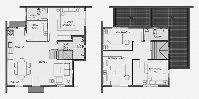 Camella Urdaneta - Floor Plans