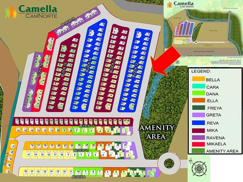 Camella Camnorte - Site Development Plan