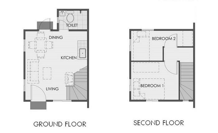 Camella Sorsogon - Ravena Floor Plan
