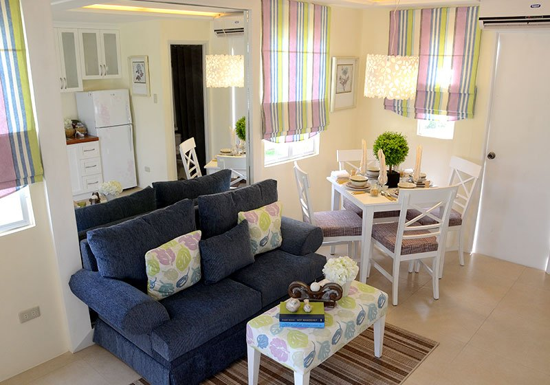 Camella Bacolod South - Living & Dining Area