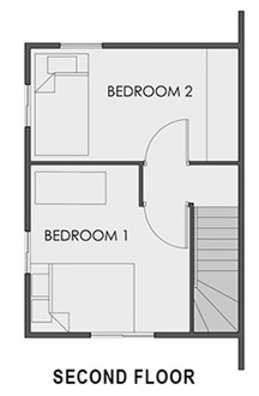 Camella North Hill - Mikaela Second Floor Plan