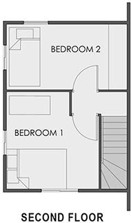 Camella North Hill - Second Floor Plan