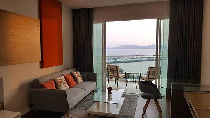 Movenpick Residences - Living & Dining Area