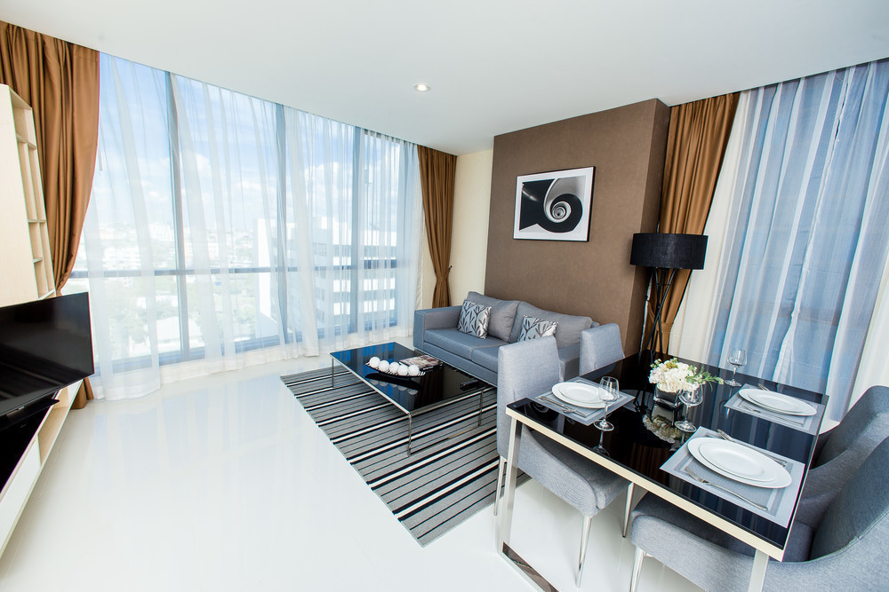 Movenpick Residences - Living Area