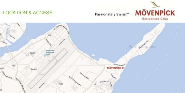 Movenpick Residences - Location Map