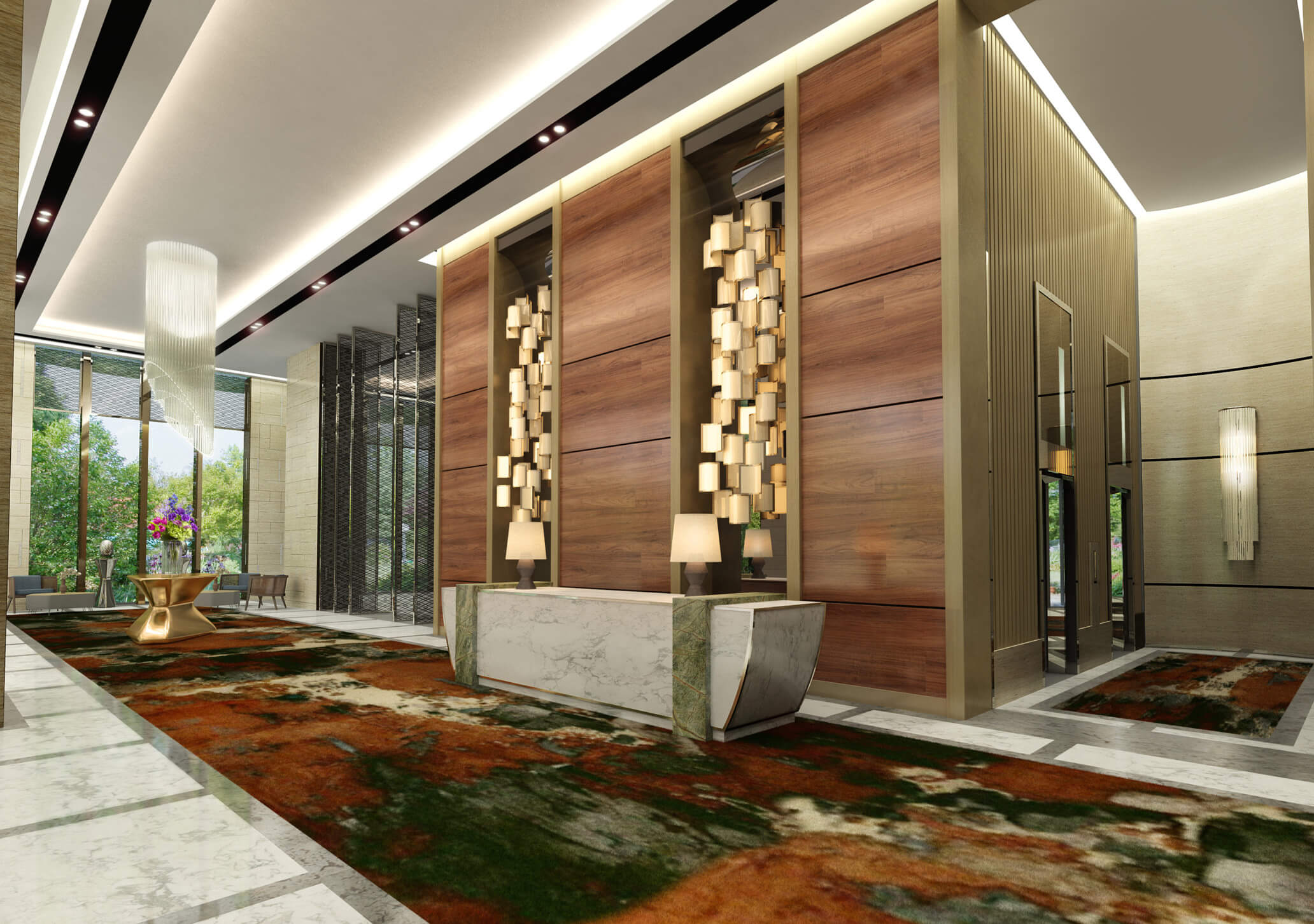 Movenpick Residences - Reception Area