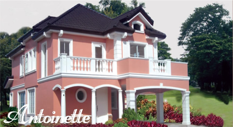 Versailles Village Alabang - Antoinette House Model
