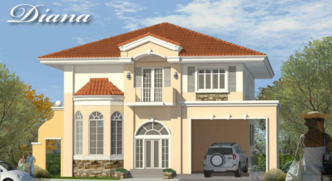 Versailles Village Alabang - Diana House Model