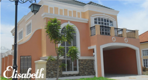 Versailles Village Alabang - Elisabeth House Model