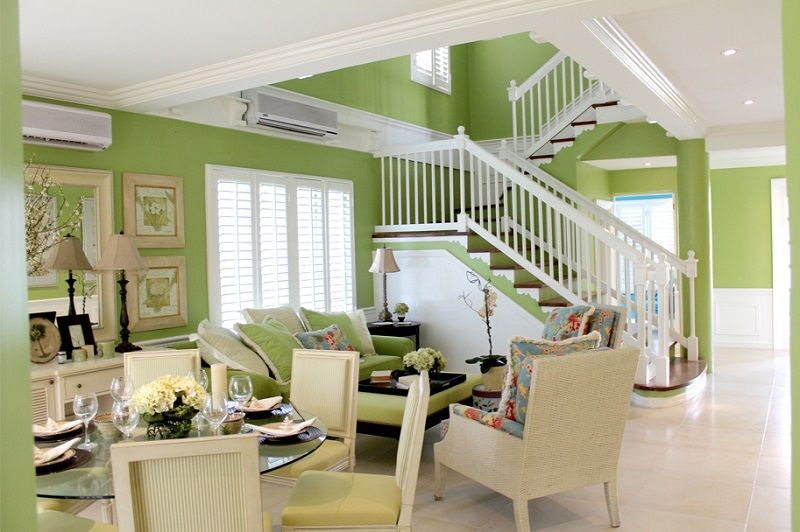Caribe At The Islands - Living & Dining Area
