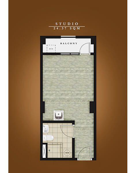 Amaia Steps Alabang - Unit Floor Plan