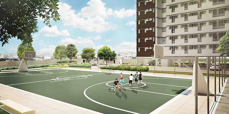 Amaia Steps Alabang - Basketball Court