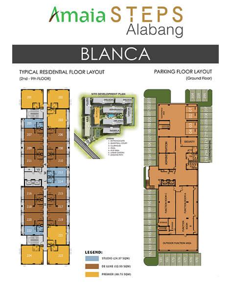 Amaia Steps Alabang - Blanca Floor Plan