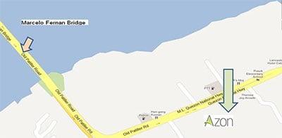 Azon Residences - Location Map