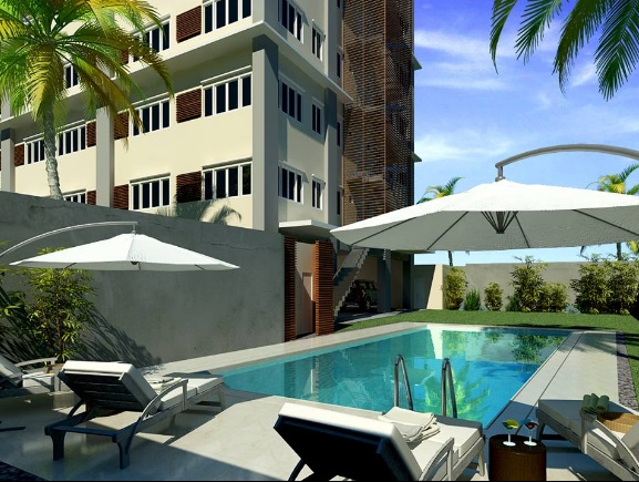 Azon Residences - Pool Deck
