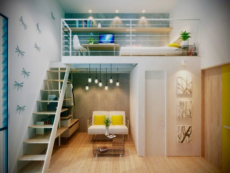 BLOQ Residences - Loft Area