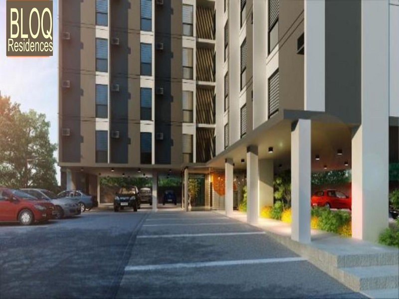 BLOQ Residences - Parking Area