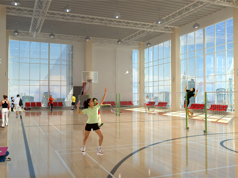 One Uptown Residence - Badminton Court & Basketball Court