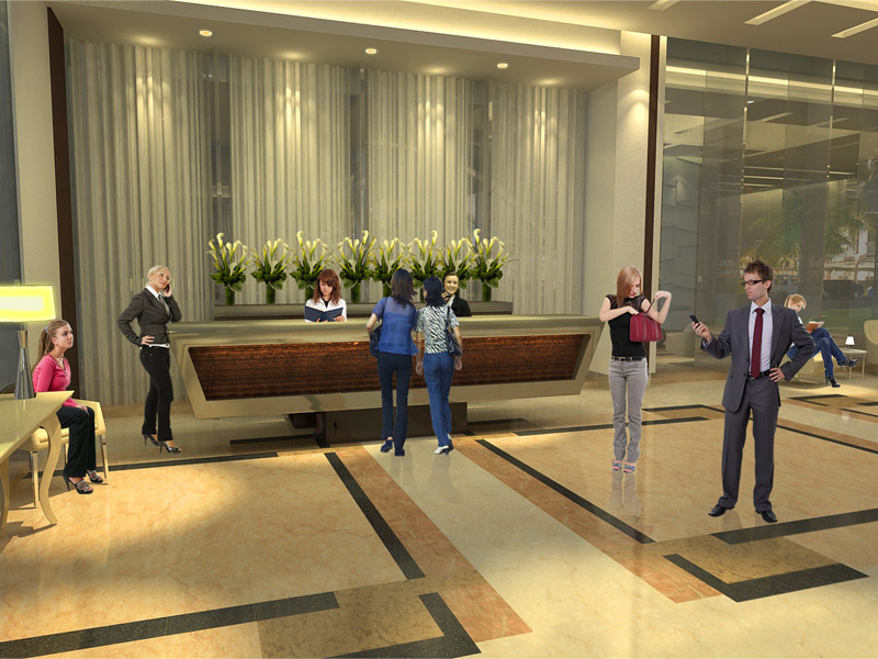 One Uptown Residence - Reception Lobby