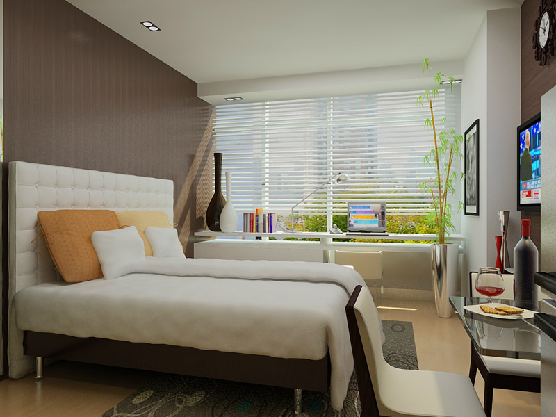 One Uptown Residence - Bedroom