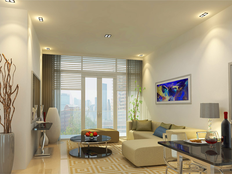One Uptown Residence - Living Room