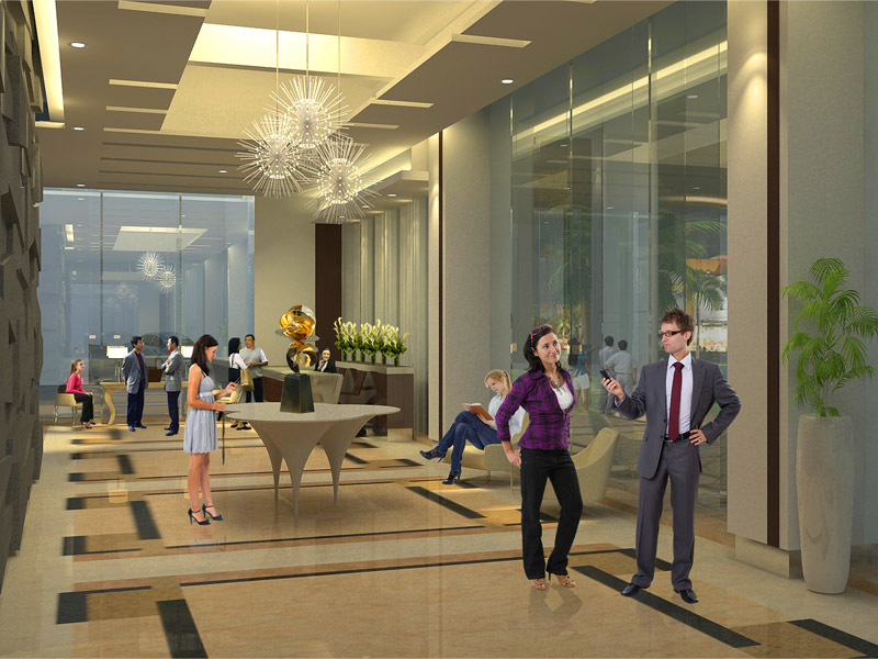 One Uptown Residence - Lobby