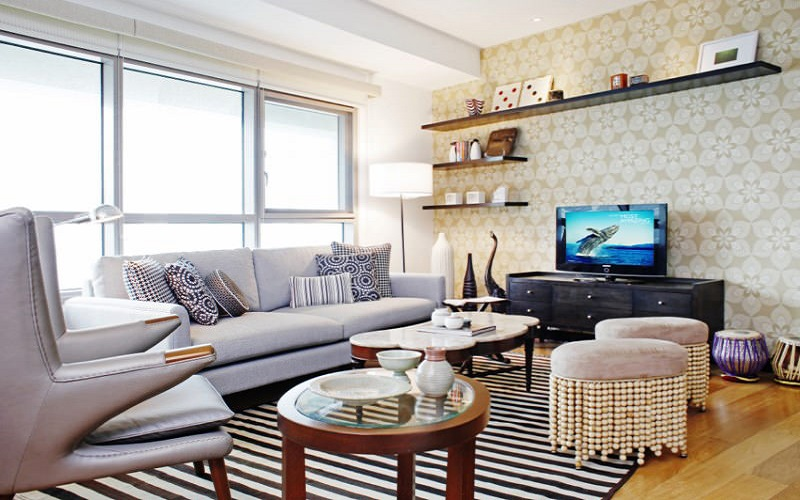 The Residences At Greenbelt - Living Area
