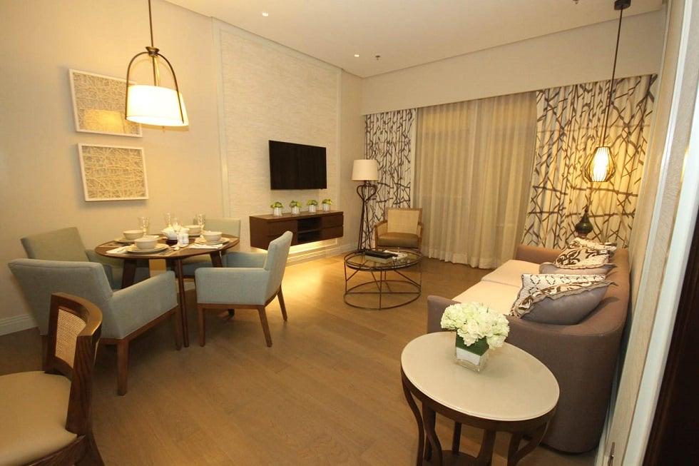 Dusit Thani Residence - Living Room