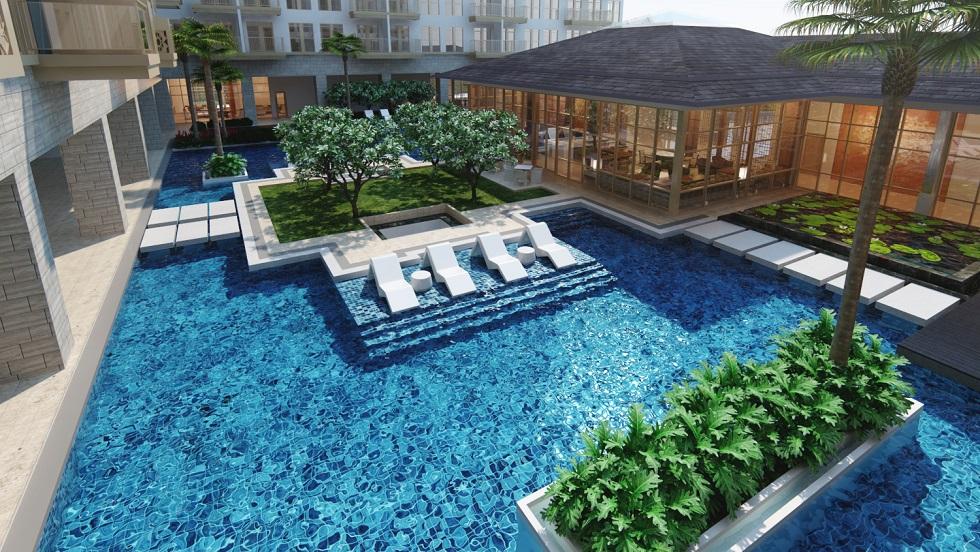 Dusit Thani Residence - Swimming Pool