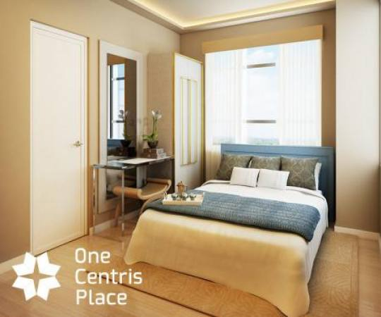 One Centris Place - Bedroom