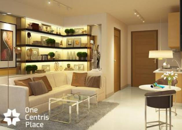 One Centris Place - Living Room