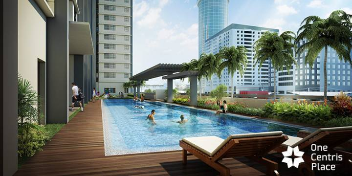 One Centris Place - Swimming Pool