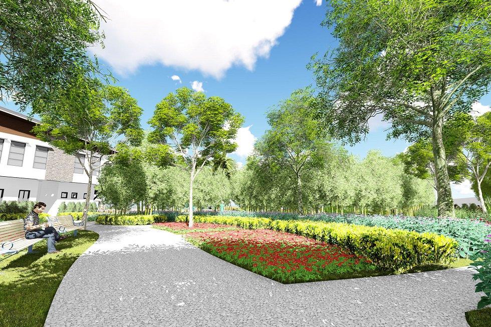Idesia - Garden Area