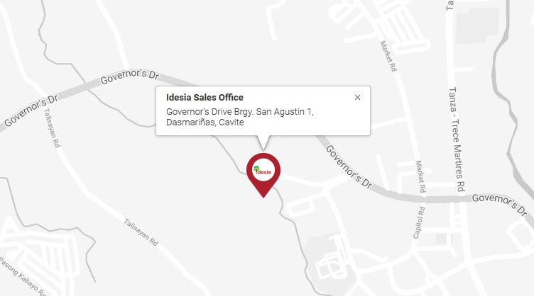 Idesia - Location Map