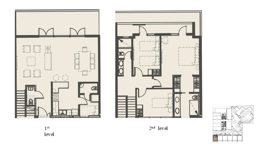 Maple At Verdant Towers - Townhouse Floor Plan