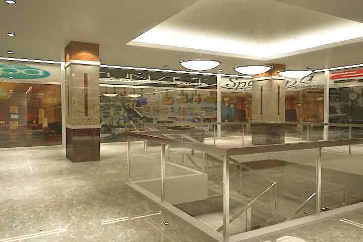 La Breza Tower - Shopping Area