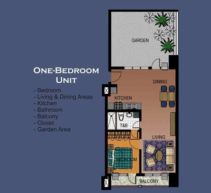 La Breza Tower - 1 Bedroom Unit
